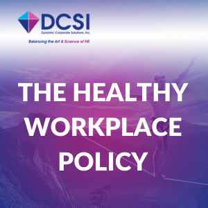 the healthy workplace policy